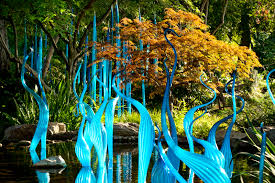 Botanical Gardens Atlanta Christmas Lights by Exhibitions Chihuly