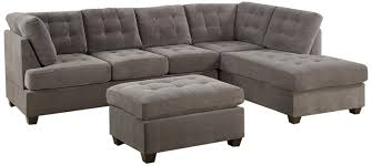 sofa set bobkona michelson 3 reversible sectional with