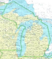 up michigan map michigan s peninsula