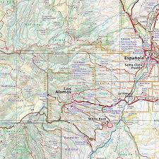 atlas road map new mexico road recreation atlas benchmark maps