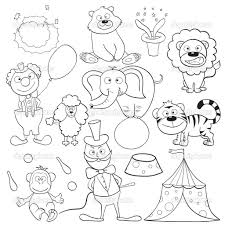 Circus Coloring Pages Jacb Me Circus Coloring Page