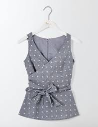 polkadot top polka dot shirt at boden