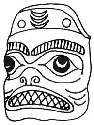 Creepy Halloween Coloring Pages by Scary Halloween Masks