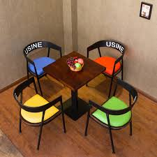 Coffe Shop Chairs Creative Dessert Tea Shop Cafe Tables And Chairs Combination