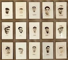 cuban baseball card set from 1920s draws