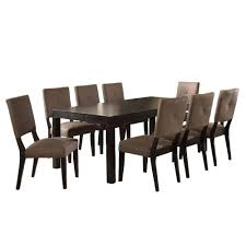 9 piece dining room sets venetian worldwide bayside ii 9 piece espresso dining set cm3311t