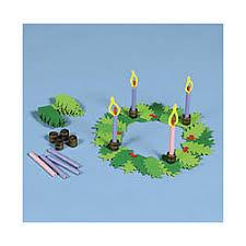 advent wreath kits advent table wreath craft kit findgift