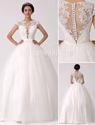 robe de mariã e princesse col haut robe de mariée princesse tulle dentelle charmante