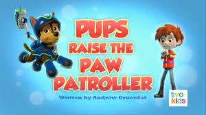 pups raise paw patroller paw patrol wiki fandom powered