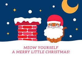 funny christmas card templates by canva