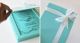 wedding invitations in a box unique blue keepsake wedding invitations invitation crush