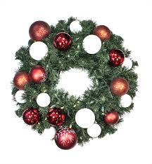 battery operated wreath 2 pre lit battery operated white led sequoia wreath