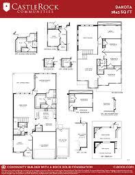 floor plan of the alamo dakota silver home plan by castlerock communities in talise de culebra