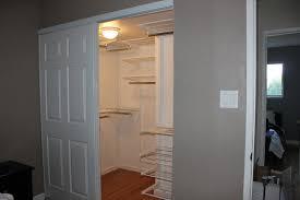 Closet Door Opening Curtain Closet Doors Image Buzzard