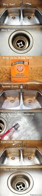 How To Clean Kitchen Sink With Baking Soda 37 Ways To Give Your Kitchen A Clean Stainless Steel Sinks