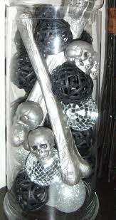Vase Fillers Balls Potatoez N U0027 Pineconez Halloween Bones