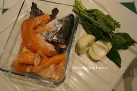 la cuisine du bonheur thermomix fumet de poisson au thermomix dans la cuisine de françoise