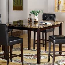 small tall round kitchen table 68 most superb bar dining table set height style kitchen round pub