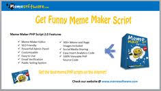 new funny meme maker script with complete meme web editor included