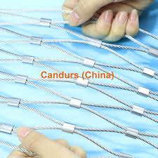 stainless steel clip cable netting decorrope candurs china