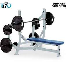 Flat Bench Barbell Press Hammer Strength Flat Bench Press Total Fitness Outlet