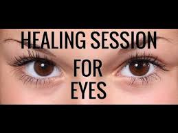 white light healing prayer vision repair affirmations and energy healing session for eyes