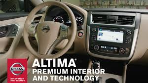 2016 nissan maxima youtube 2016 nissan altima premium interior and technology youtube