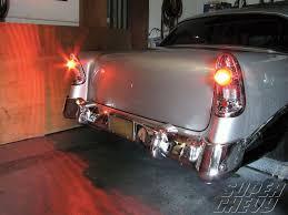 how to convert to led lights 1956 chevy led tail light conversion dakota digital led tail