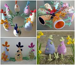 Easter Decorations To Crochet by Wonderful Diy Simple Easter Knitted Chicken