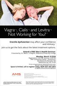 ams mens health viagra cialis and levitra not working for you