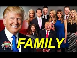 donald trump family donald trump family with parents wife son daughter brother and