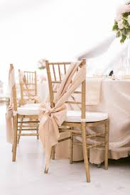blush chair sashes gold sashes wedding chairs best home chair decoration