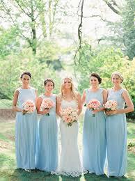 bridesmaid dress ideas pastel blue bridesmaid dresses wedding ideas chwv