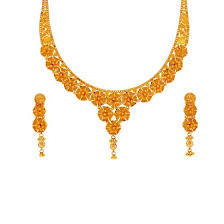 gold necklace patterns images Yellow gold gold necklace set n3028se2034 ranka jewellers jpg