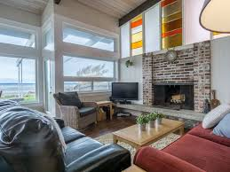 puget sound getaway beachfront cabin on go vrbo