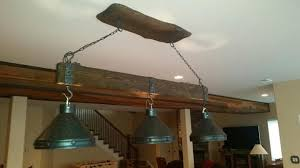 light over pool table log pool table lights rustic billiards