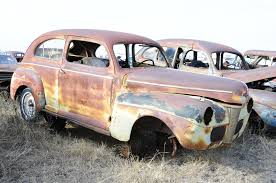 Vintage Ford Truck Salvage Yards - vintage steel lives on at owens salvage in the heart of texas