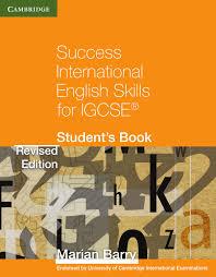 success international english skills for igcse student u0027s book by