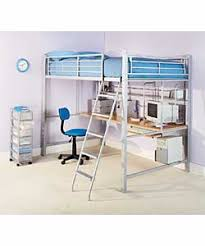 double high sleeper with work station and firm mattress scott