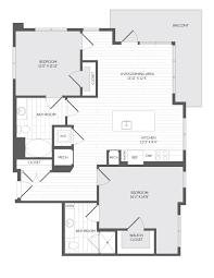 3 4 Bath Floor Plans by Floor Plans Meriel Marina Bay Apartments The Bozzuto Group