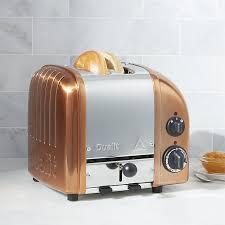 Duralit Toaster Dualit Newgen 2 Slice Copper Toaster Crate And Barrel