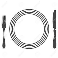 etiquette proper table setting royalty free cliparts vectors and