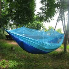 double person travel outdoor camping tent hanging hammock bed w