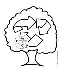 free nature coloring pages eco recycle coloring pages for kids printable free coloing