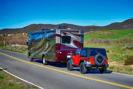 what cars can be flat towed behind an rv edmunds