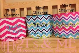 monogrammed baskets 2 t s and me mint monogrammed chevron easter basket