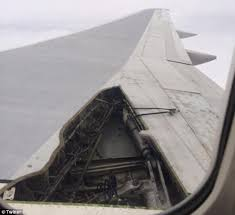 Seeking You Lost Wings Delta Plane S Wing Comes Mid Air And Lands With No Passengers