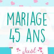 45 ans de mariage carte anniversaire mariage virtuelle gratuite à imprimer