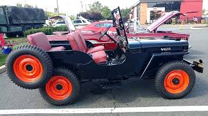 1948 black willys jeep 4 wheel drive youtube