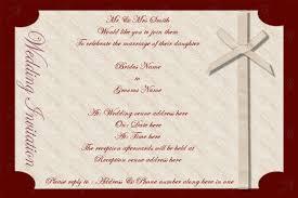 Format Of Wedding Invitation Card Attractive Sample Of Wedding Invitation Card In English 44 For